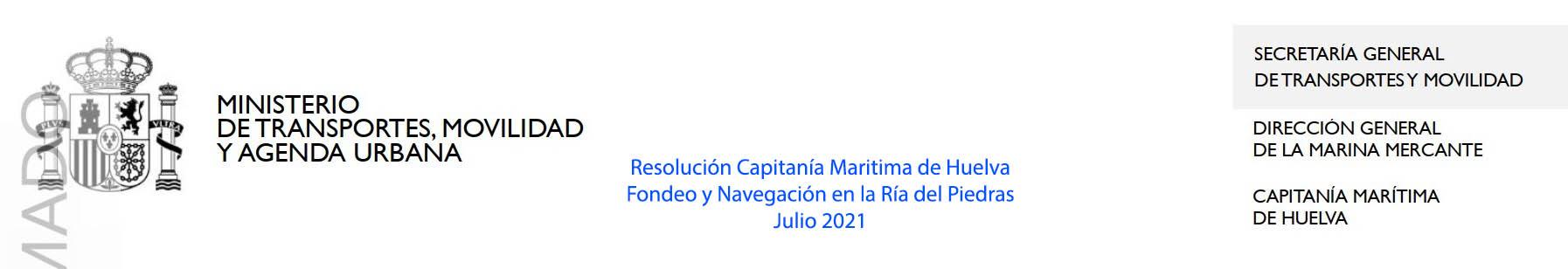 Resolución C.M. Huelva